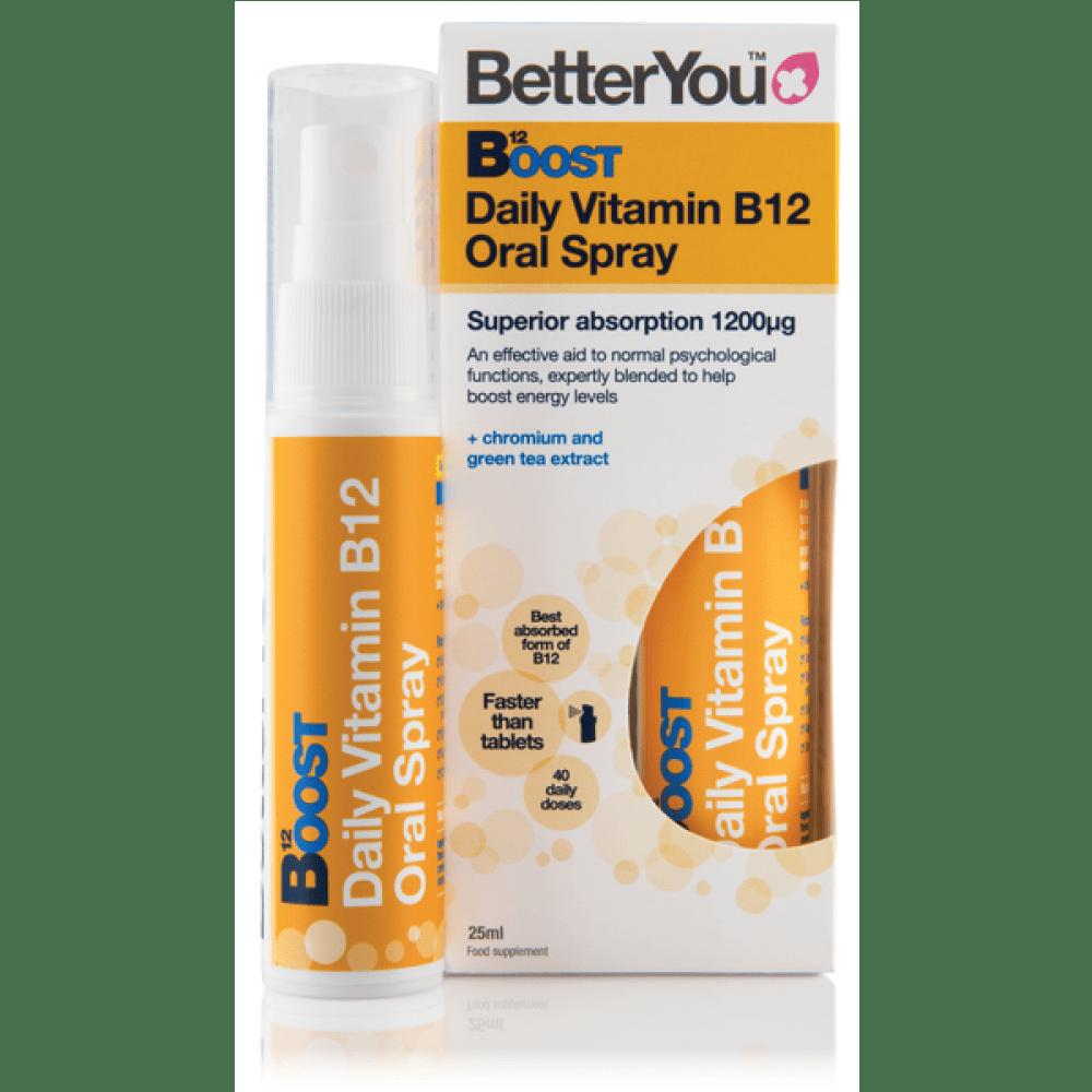 Boost - Vitamin B12 v pršilu, 25ml