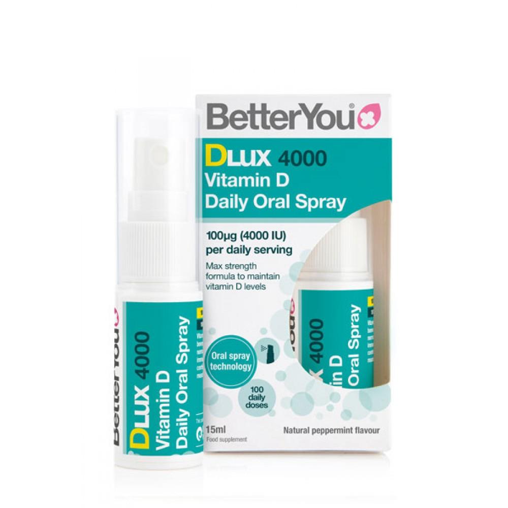 BetterYou DLux 4000 - vitamin D