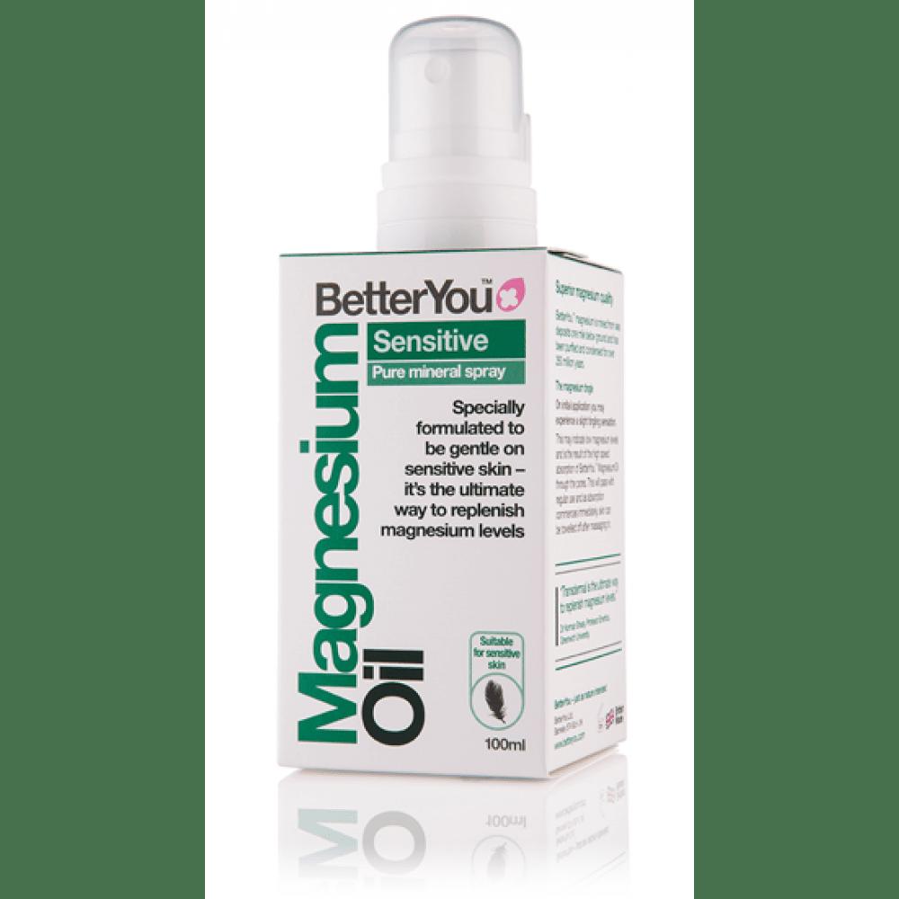 BetterYou Magnezijevo olje - sensitive, 100ml