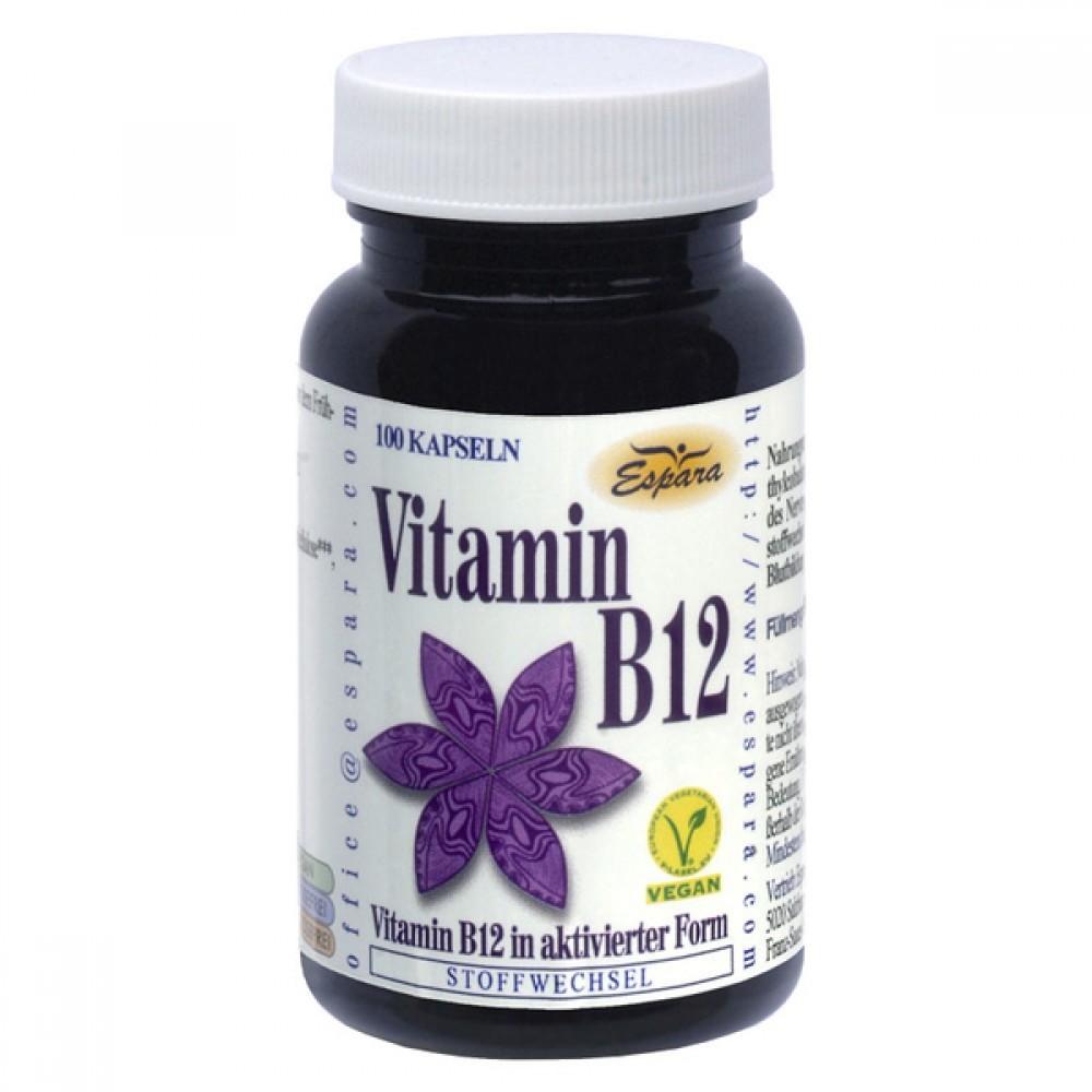 Espara Vitamin B12, 100 kapsul