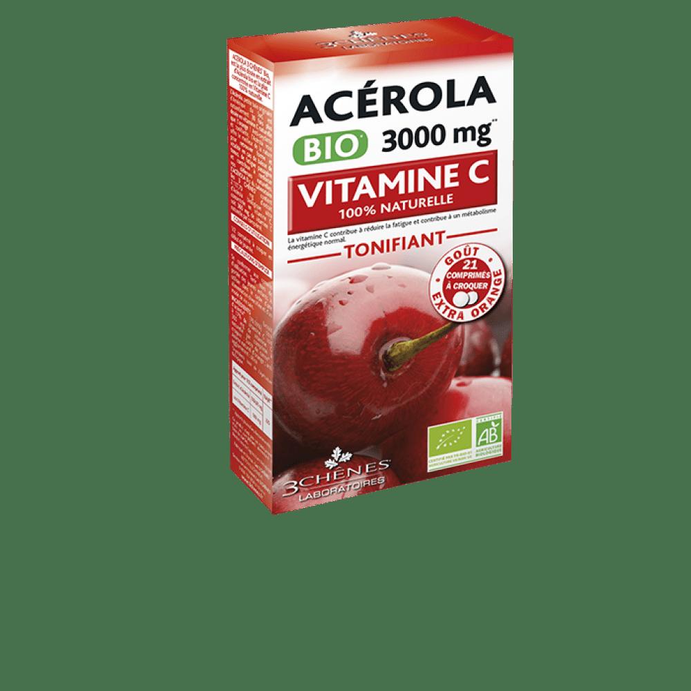 Acerola bio 3000mg, 21 tablet