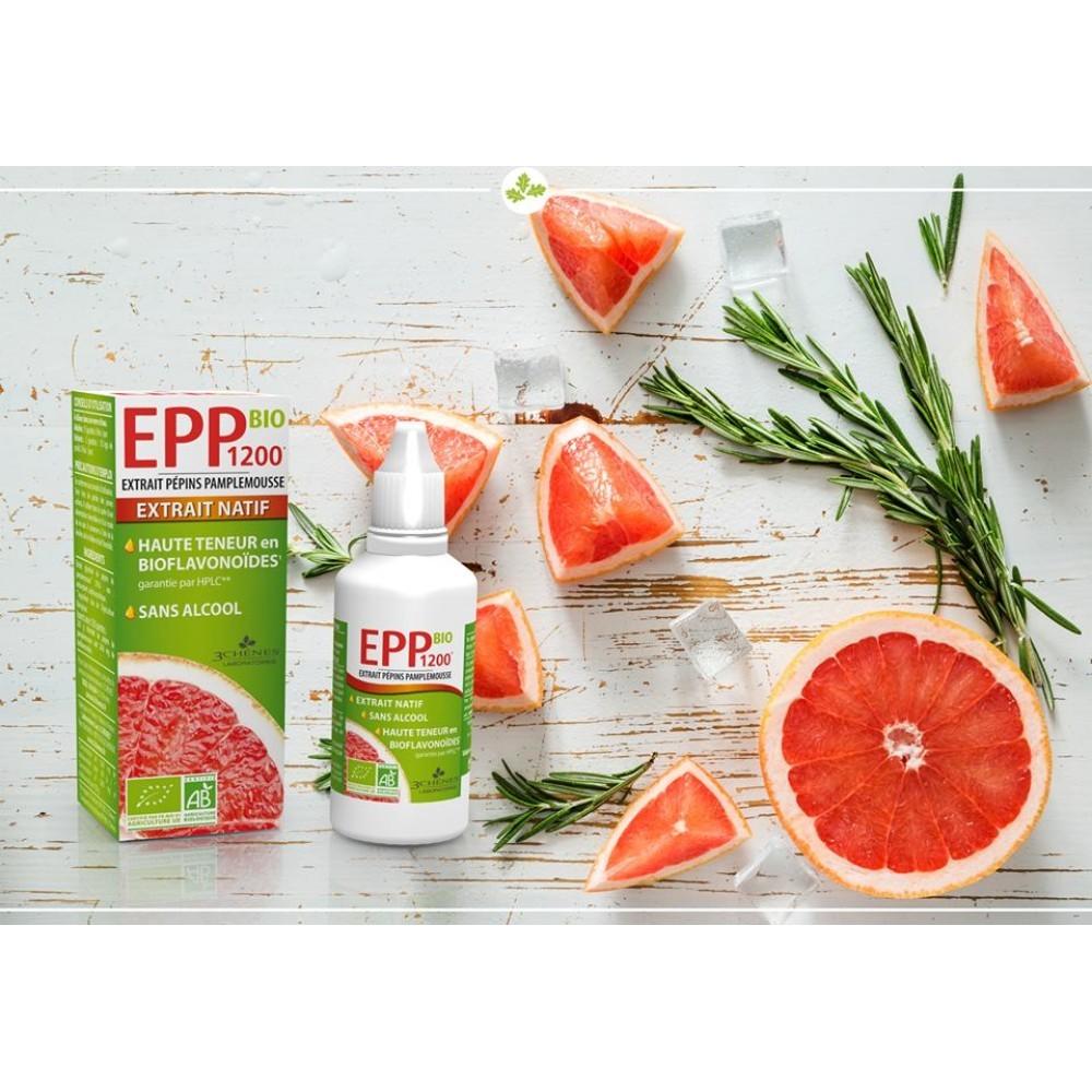 Bio EPP 1200, prehransko dopolnilo z izvlečkom grenivkinih pečk