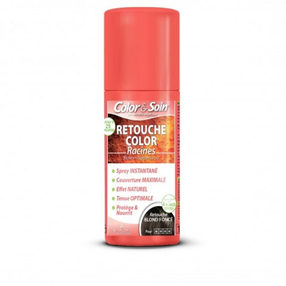 Color&Soin RETOUCHE razpršilo za prekrivanje narastka / TEMNO BLOND