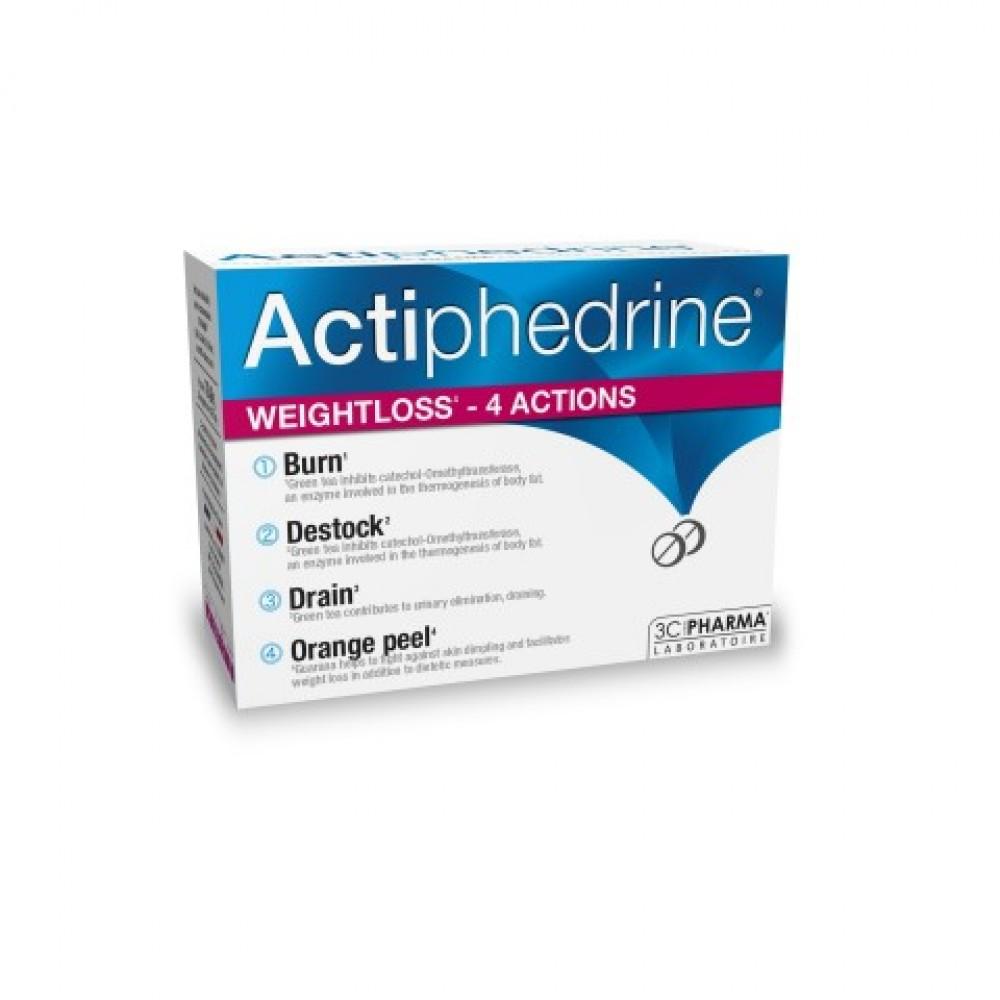Actiphedrine, prehransko dopolnilo pri zmanjšanju telesne teže, 60 stisnjenk