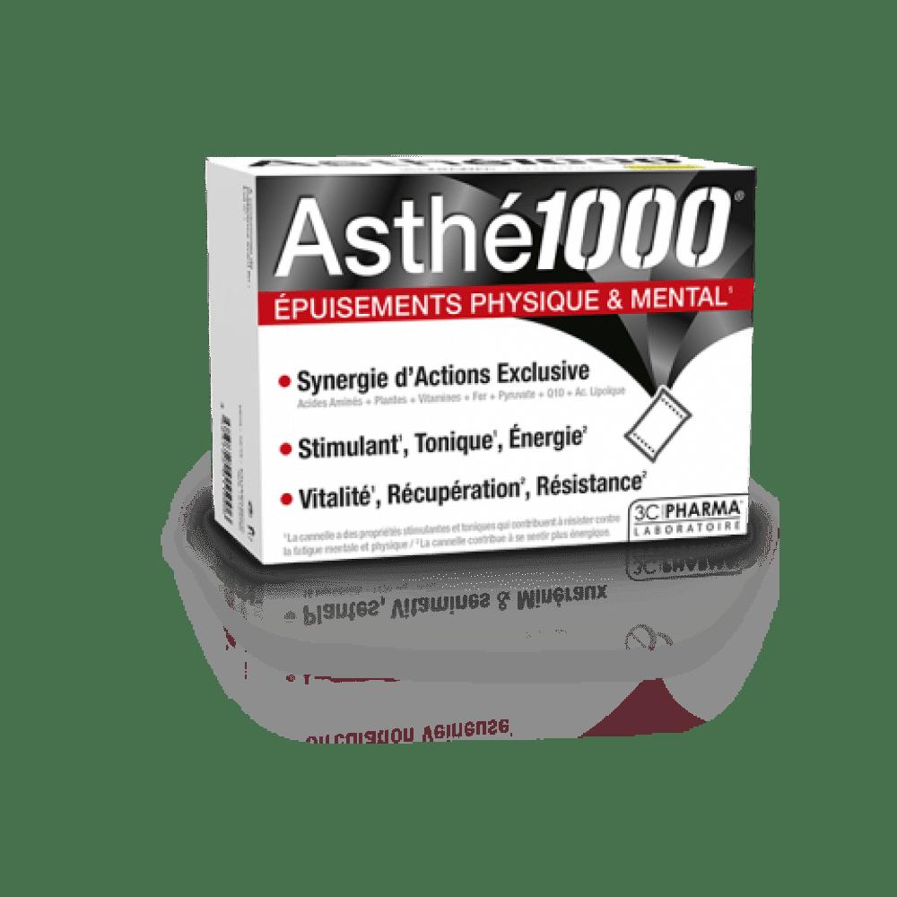 ASTHE1000 - pri telesni in mentalni izčrpanosti, 10 vrečk