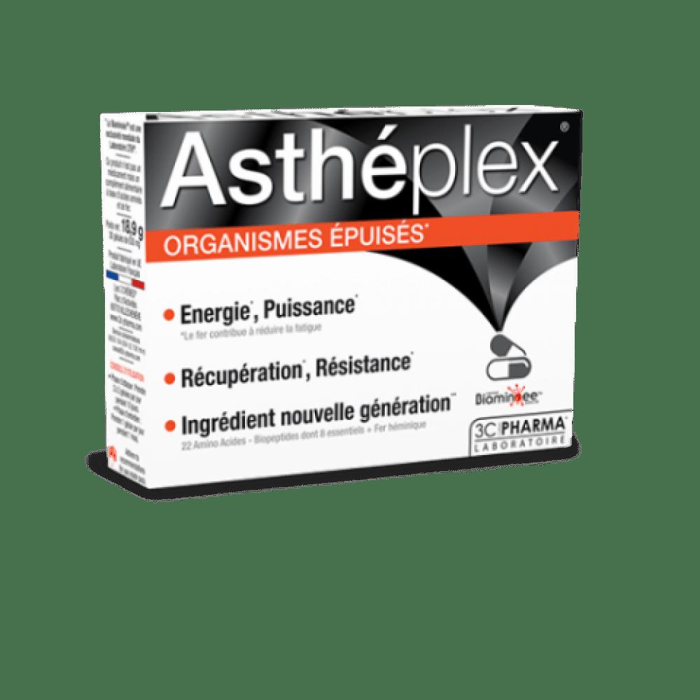 Astheplex, prehransko dopolnilo pri izčrpanosti, 30 kapsul