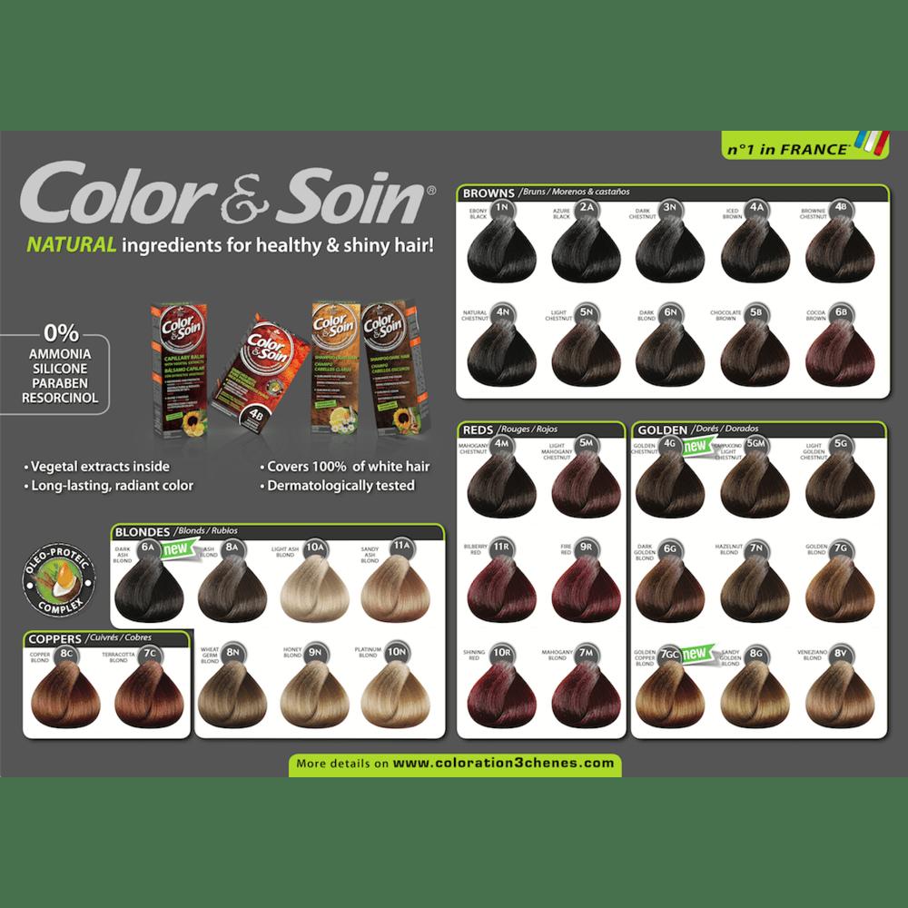 Color&Soin permanentne barve za lase