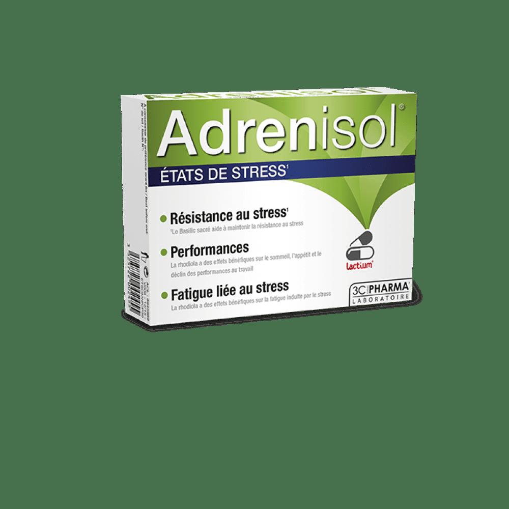Adrenisol, prehransko dopolnilo primerno pri stresnih stanjih, 30 kapsul