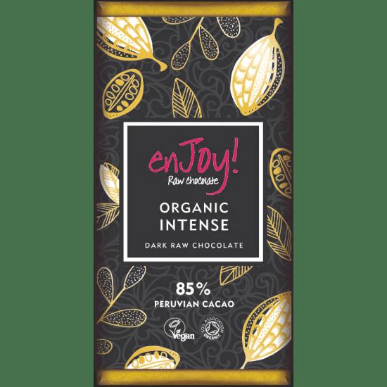 Enjoy! Presna organska čokolada intenzivna, 80g