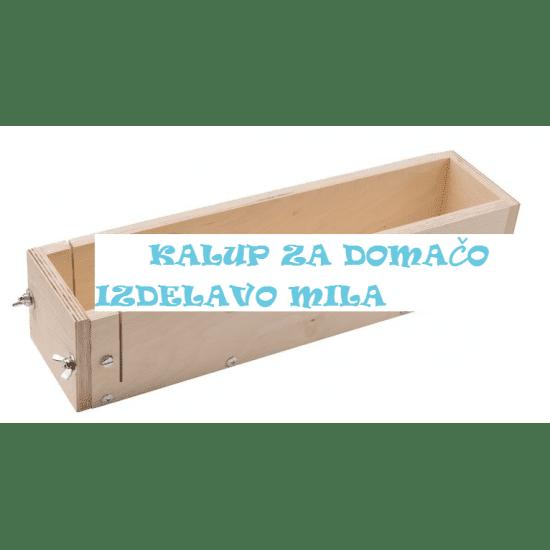 Lesen kalup za domačo izdelavo mila