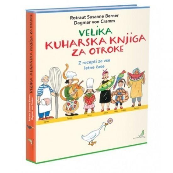 Velika kuharska knjiga za otroke (knjiga, Susanne Berner)