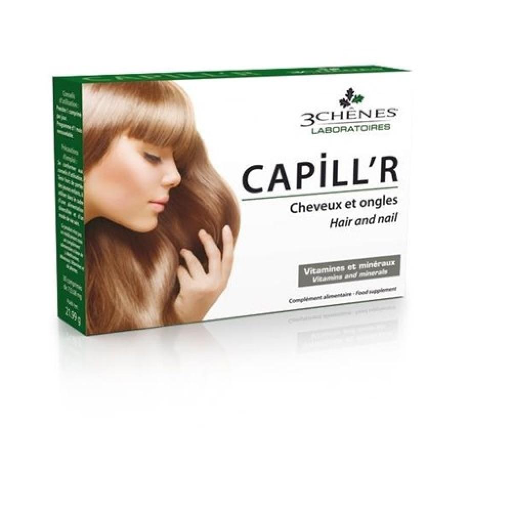 Capill'r za lase in nohte, 30 tablet