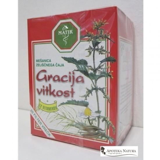 Matik čaj Gracija vitkost, 40g (20 vrečk)