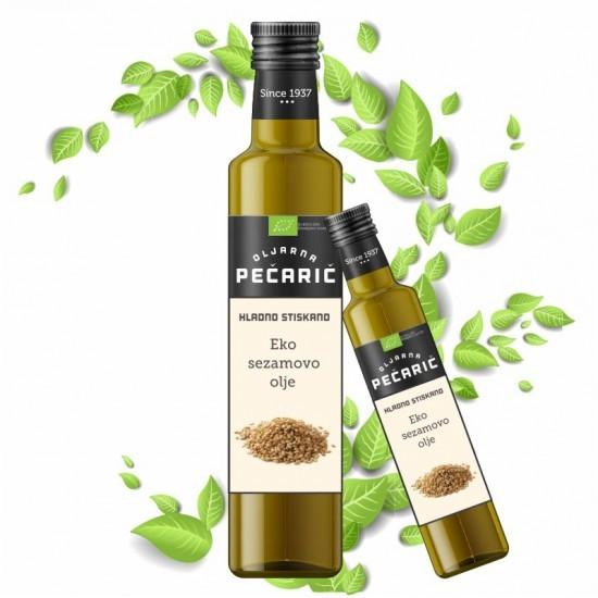 Sezamovo olje Pečarič, 250ml